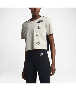 Nike | Женская Укороченная Футболка С Коротким Рукавом Sportswear Graphic