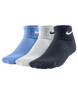 Nike | Носки Для Дошкольников/Школьников Performance Cushion Quarter 3 Пары