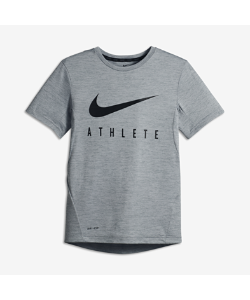 Nike | Футболка Для Тренинга С Коротким Рукавом Для Мальчиков Школьного Возраста