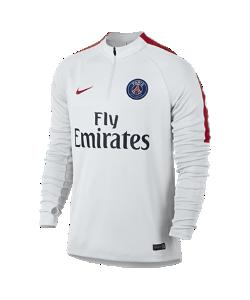 Nike | Игровая Футболка С Длинным Рукавом И Молнией 1/4 Paris Saint-Germain