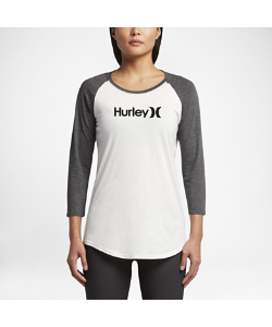 Nike | Футболка С Рукавом 3/4 Hurley One And Only Perfect Raglan