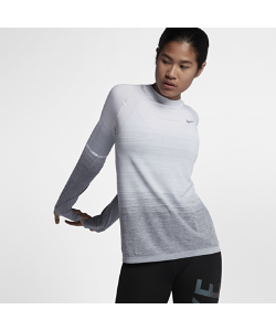 Nike | Беговая Футболка С Длинным Рукавом Dri-Fit Knit