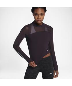 Nike | Беговая Футболка С Длинным Рукавом Power