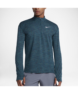 Nike | Беговая Футболка С Молнией До Середины Груди Dry Element