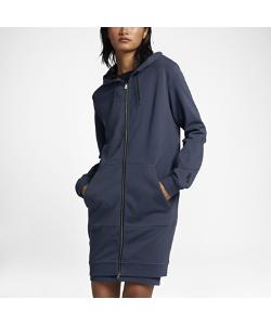 Nike | Женская Худи C Полноразмерной Молнией Lab Essentials Fleece Long