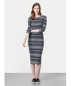 OSTIN | Платье В Рубчик