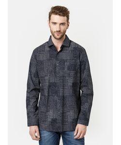 OSTIN | Рубашка С Принтом Patchwork