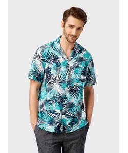 OSTIN | Рубашка С Тропическим Принтом