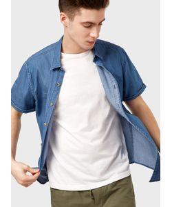 OSTIN | Рубашка Из Тонкого Денима