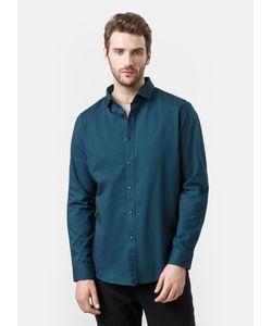 OSTIN   Однотонная Рубашка Из Хлопка