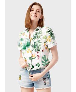 OSTIN | Блузка В Тропический Принт