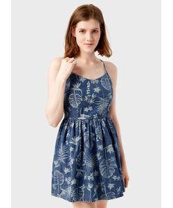 OSTIN | Платье Из Денима С Принтом