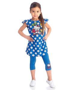 Hello Kitty | Комплект Мини-Платье Леггинсы