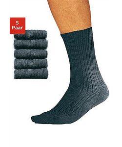 COTTON REPUBLIC | Комплект Носки Для Работы Короткие 5 Пар