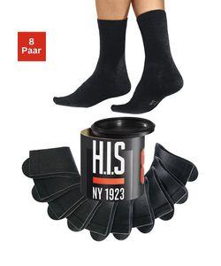 H.I.S | Носки В Стиле Унисекс 8 Пар