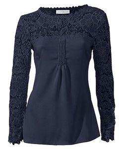 SINGH S. MADAN | Кружевная Блуза