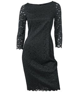 SINGH S. MADAN   Кружевное Платье