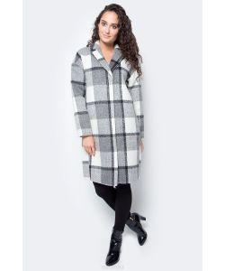 Baon | Пальто Цвет B067505asphalt Checked. Размер Xs 42