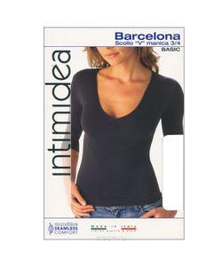 Intimidea | Футболка Женская Barcellona Цвет Bianco. Размер M/L