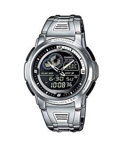 Casio | Часы Наручные Цвет Серебристый Черный. Aqf-102wd-1b