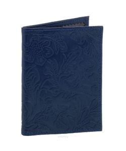 Cheribags | Обложка Для Паспорта Узор Цвет Синий. Op-17
