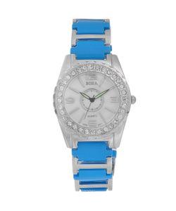 Bora | Часы Наручные Женские Цвет Голубой Серебряный. Fwbr052 / T-B-8527-Watch-Turquoise