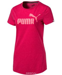 Puma | Футболка Ess No.1 Tee Heather W Цвет 83839929.