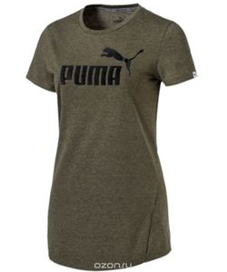 Puma | Футболка Ess No.1 Tee Heather W Цвет 83839915.