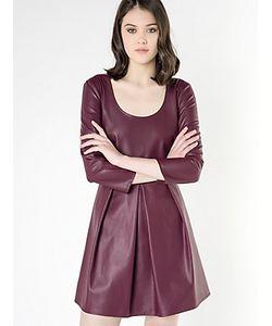 Patrizia Pepe | Короткое Платье Из Синтетической Кожи