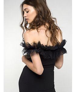 Patrizia Pepe | Короткое Платье Из Вискозного Крепа Стрейч
