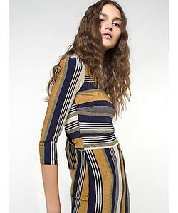 Patrizia Pepe | Длинное Платье Из Блестящего Вискозного Джерси