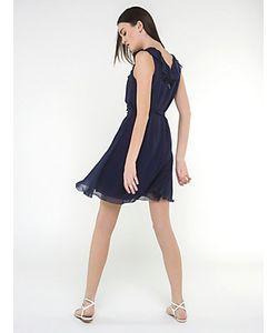 Patrizia Pepe | Короткое Платье Из Шелкового Шифона