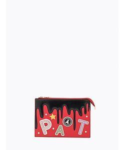 Patrizia Pepe | Клатч Из Кожи С Эксклюзивными Лоскутными Вставками