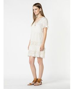 Patrizia Pepe | Короткое Платье Из Хлопкового Муслина