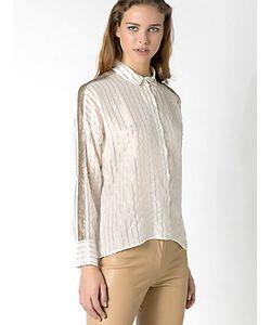 Patrizia Pepe | Рубашка Полушелковая С Длинным Рукавом