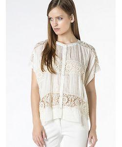 Patrizia Pepe | Рубашка-Туника Из Хлопкового Муслина