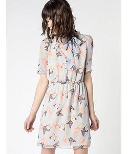 Patrizia Pepe | Короткое Платье Из Принтованного Шелка