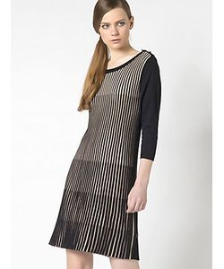 Patrizia Pepe | Короткое Платье Из Смешанной Шелковой И Вискозной Пряжи