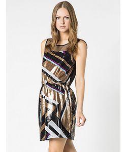 Patrizia Pepe | Короткое Платье С Вышивкой Пайетками