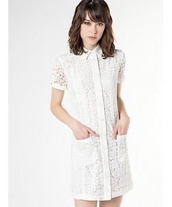 Patrizia Pepe | Короткое Платье Из Кружева На Подкладке