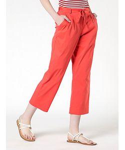 Patrizia Pepe | Pantalone Cropped In Popeline Di Cotone Stretch
