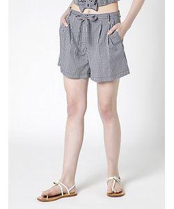 Patrizia Pepe | Pantalone Shorts In Vichy
