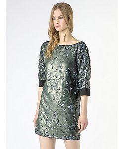 Patrizia Pepe | Платье С Двухцветными Пайетками По Всей Поверхности