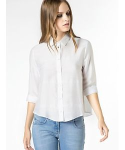 Patrizia Pepe   Рубашка С Длинным Рукавом Из Шелка И Вискозы