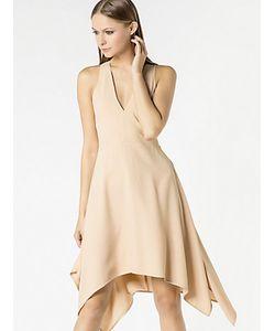 Patrizia Pepe | Короткое Платье Из Вискозного Крепа