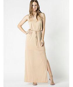 Patrizia Pepe | Длинное Струящееся Платье Из Джерси-Модал