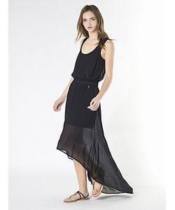 Patrizia Pepe | Длинное Платье Из Плиссированной Ткани