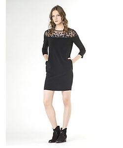 Patrizia Pepe | Короткое Платье Из Гладкой Ткани