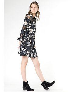 Patrizia Pepe | Короткое Платье С Цветочным Принтом