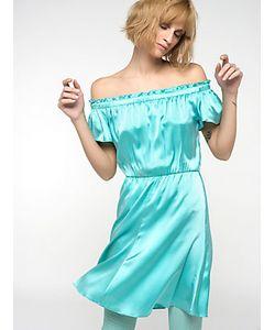 Patrizia Pepe | Короткое Платье Из Шелкового Атласа